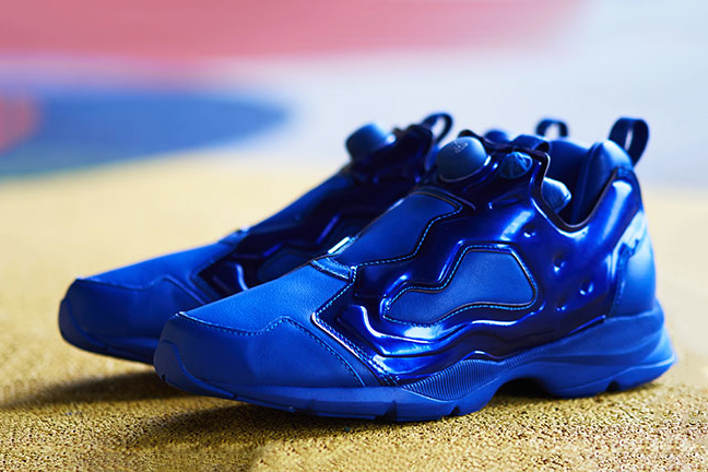 "AMBUSH x Reebok Pump Fury HLS ""Metallic Blue"""