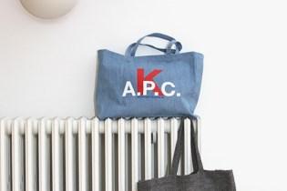 A.P.C. Korea Tote Bags