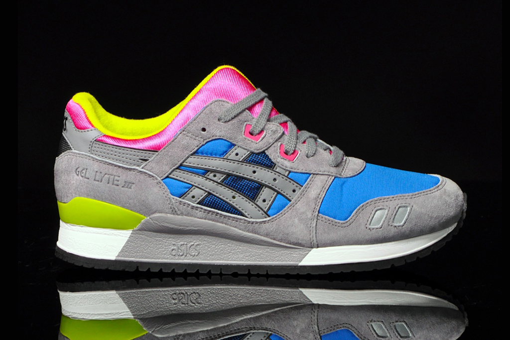 asics 2013 spring summer gel lyte iii colorways