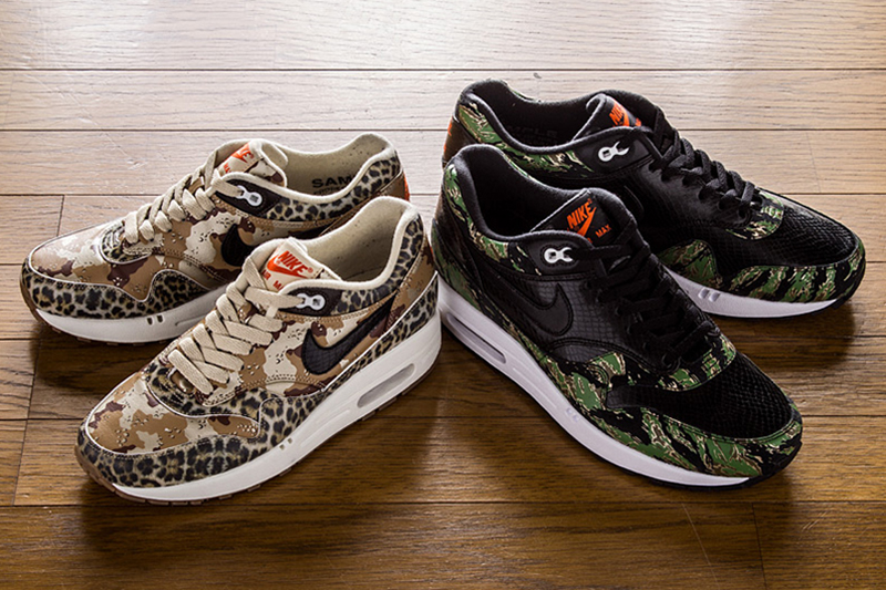 atmos x Nike Air Max 1 Animal Camo Pack | HYPEBEAST