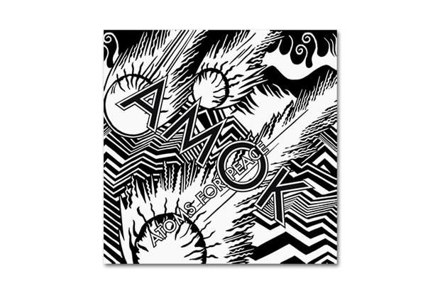 Atoms for peace full album amok book