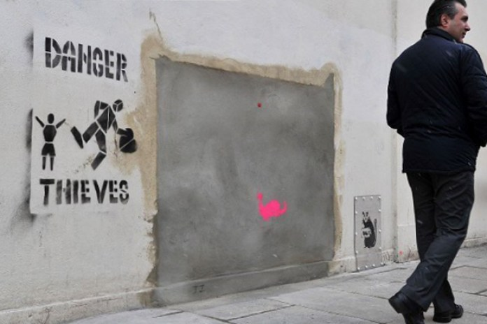 Auction House to Withdraw Banksy Mural From Sale
