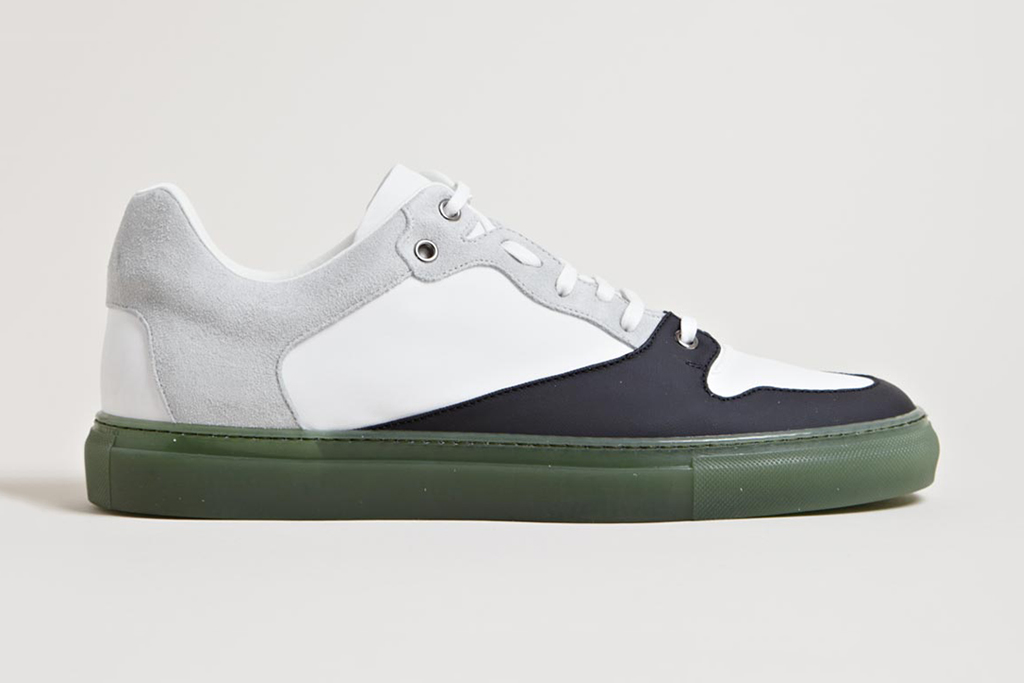 balenciaga 2013 spring summer contrast panel trainers