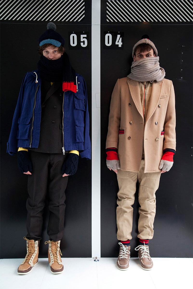Band of Outsiders 2013 Fall/Winter Lookbook