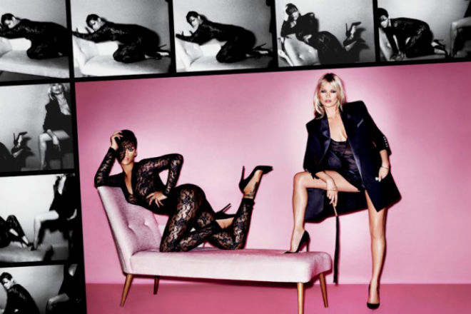 behind the scenes of kate moss rihannas v magazine shoot