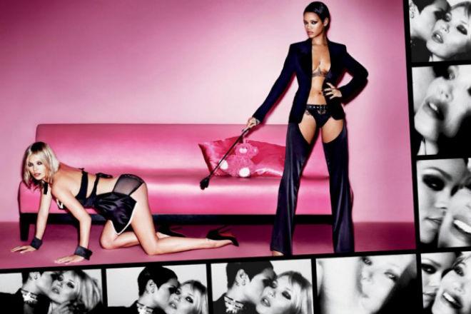 Behind-the-Scenes of Kate Moss & Rihanna's V Magazine Shoot