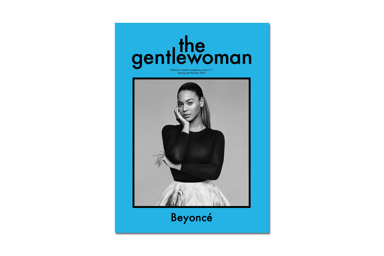 beyonce covers the gentlewoman 2013 spring summer issue no 7