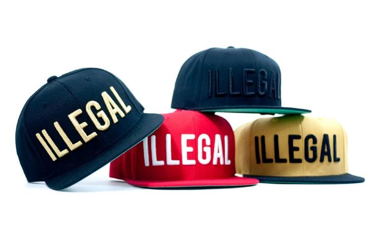 "Black Scale x Fool's Gold ""Illegal"" Snapbacks"