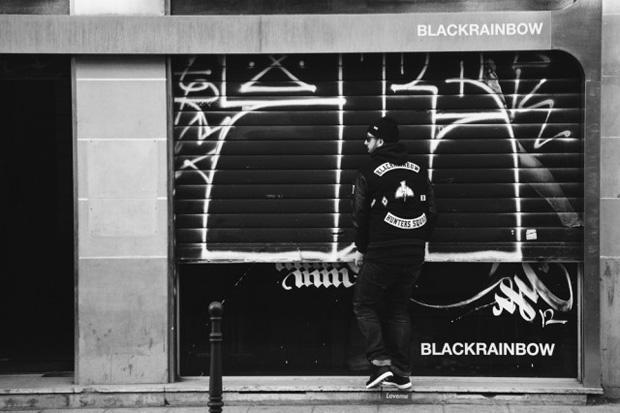 BlackRainbow Varsity Jacket No.5