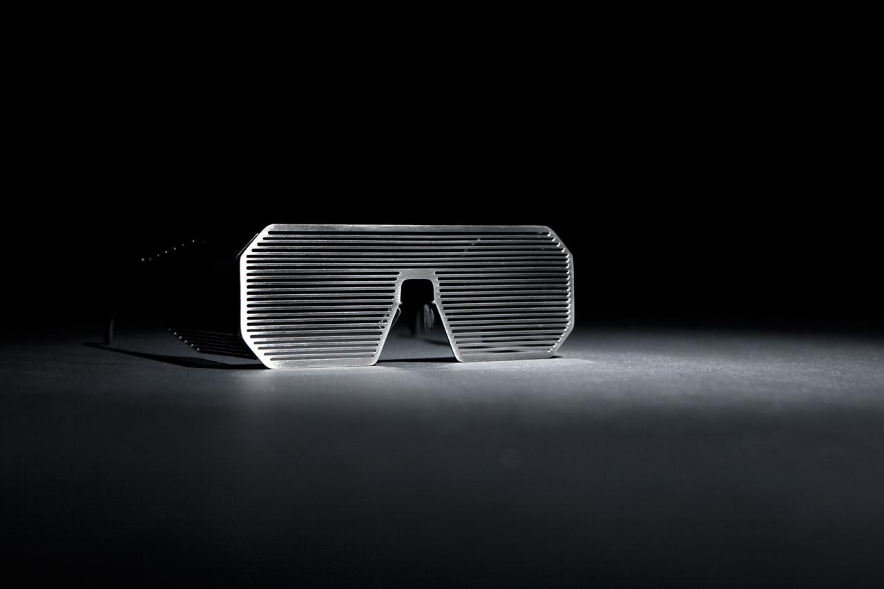 Boris Bidjan Saberi x Linda Farrow Shutter Sunglasses -- A Closer Look