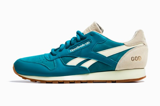 Burn Rubber x Reebok Classic Leather 30th Anniversary