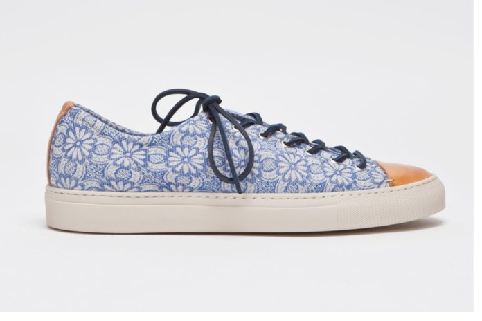 Buttero Tanino Low Floral Blue