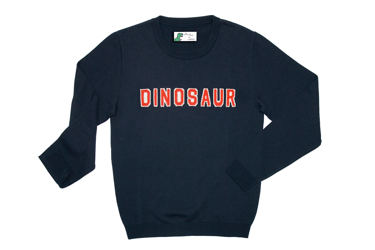 colette x julien david 2013 spring summer dinosaur sweater