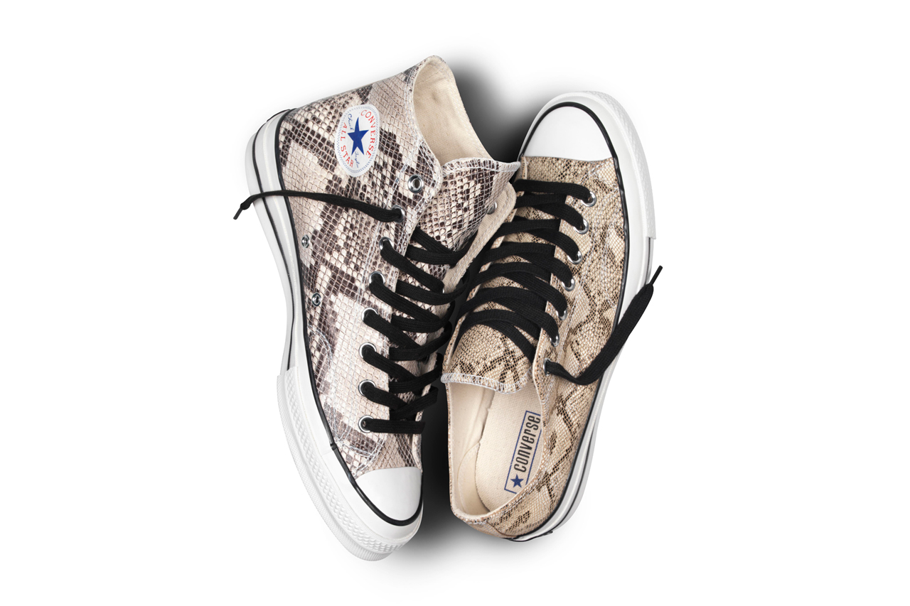 converse first string 1970s chuck taylor snake skin pack 2