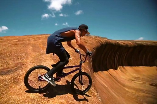 "Danny Campbell Attempts ""Wave Rock"""
