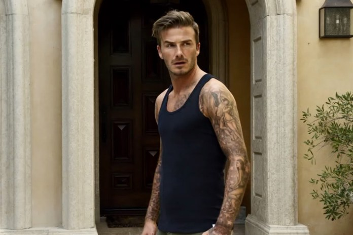 David Beckham for H&M Bodywear 2013 Spring Short Film by Guy Ritchie