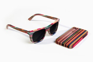 Diamond Supply Co. Brilliantly Crafted 100% Recycled Skateboard Wood Sunglasses & iPhone 5 Case