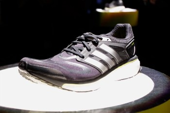 Discussing BOOST Technology with adidas