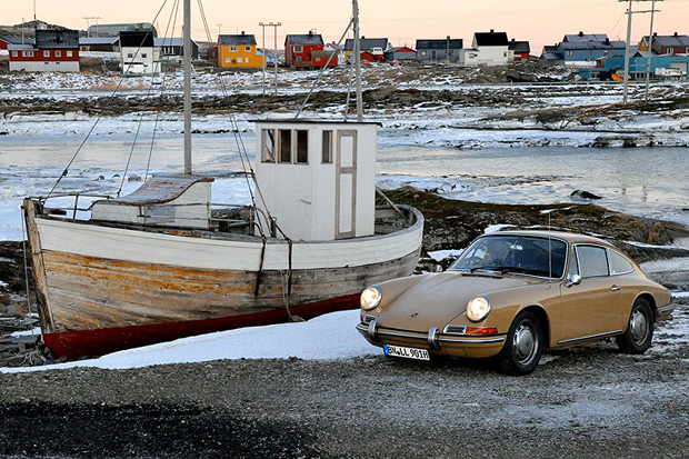 exploring norways north cape in a classic porsche 911