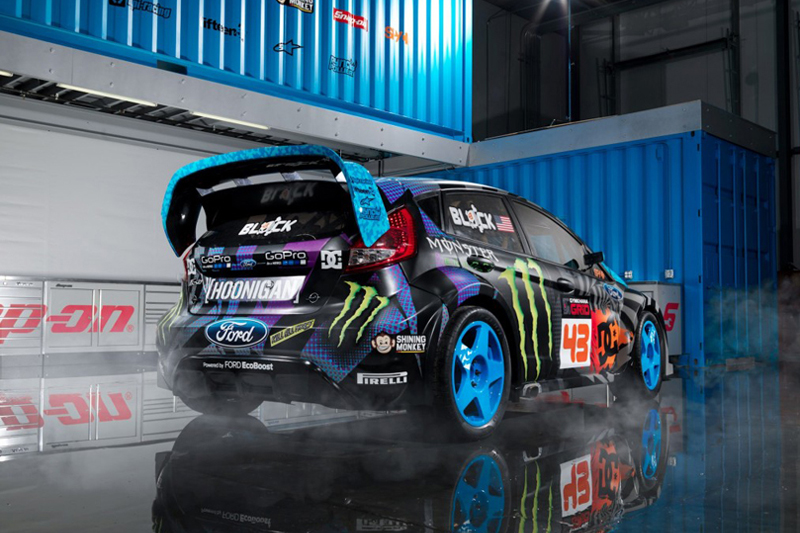 Ford Unveils the Fiesta ST GRC