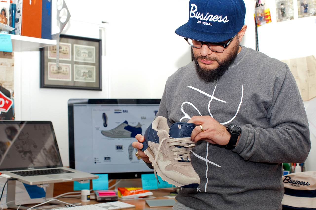 Frank The Butcher Talks Sneaker Design & the Reebok 30th Anniversary Classic Leather