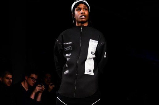 "Hood By Air 2013 Fall/Winter ""Boychild"" Runway Show featuring A$AP Rocky"
