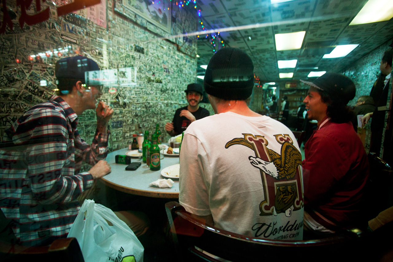 "HUF 2013 Spring/Summer ""69 Bayard"" Lookbook"