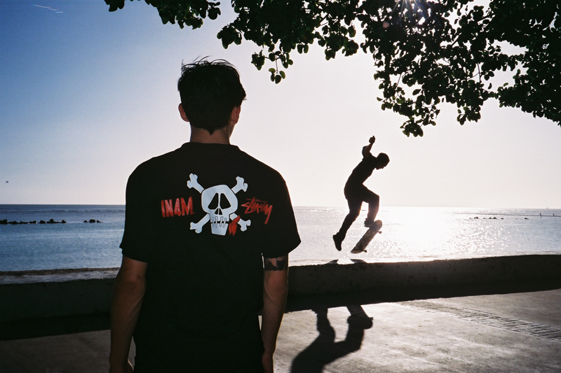 in4mation x stussy 2013 lookbook