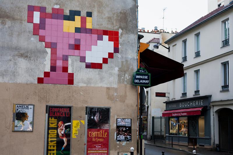 Invader in Paris