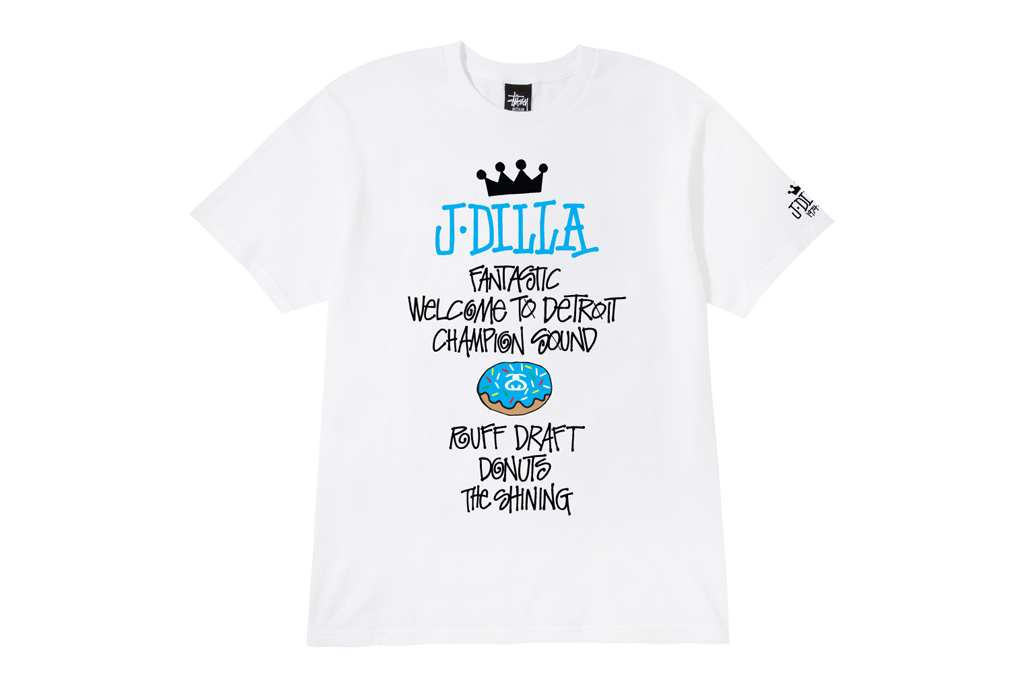 J Dilla x Stussy World Tour Tee