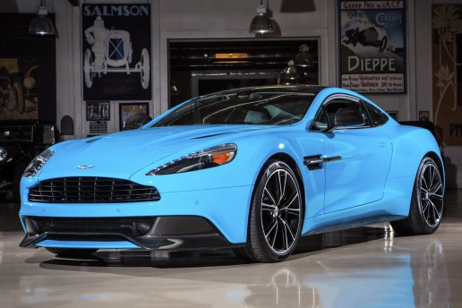 Jay Leno Displays the 2014 Aston Martin Vanquish