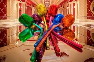 Jeff Koons' $33.7 Million Dollar Tulips On Display at Wynn Las Vegas