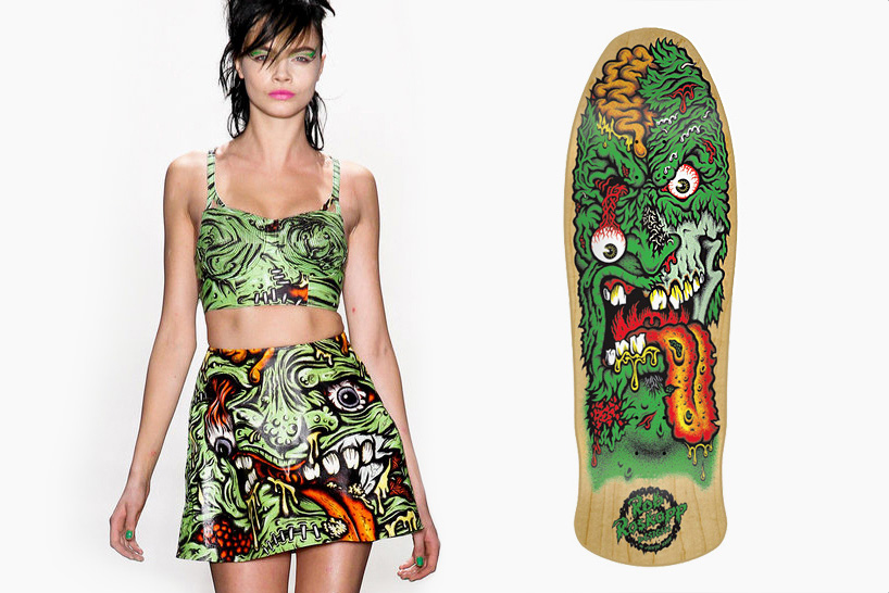 is jeremy scott using graphics from jim phillips
