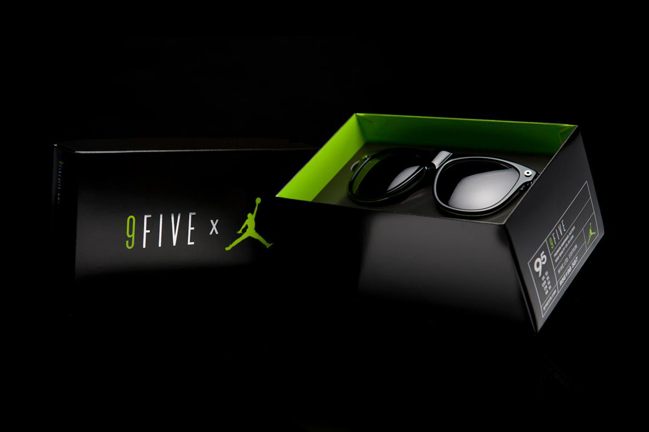 Jordan Brand x 9five Eyewear Limited Edition Eyewear