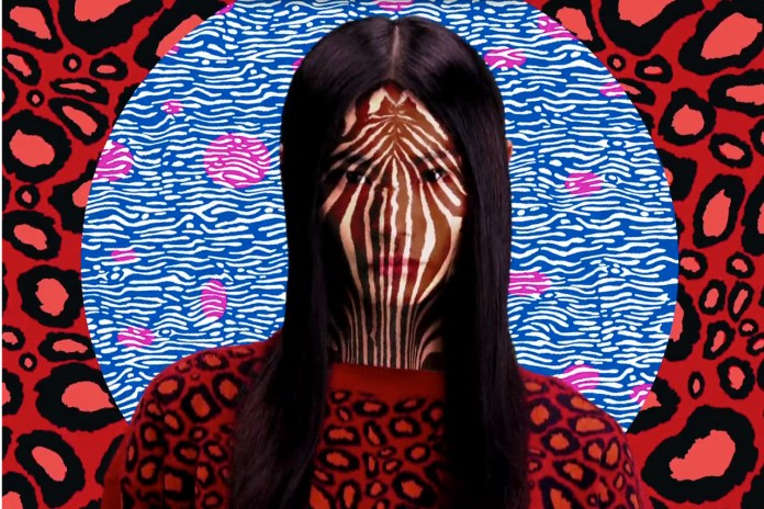 """Kenzo 2013 Resort Collection """"Electric Jungle"""" Video by Mat Maitland"""