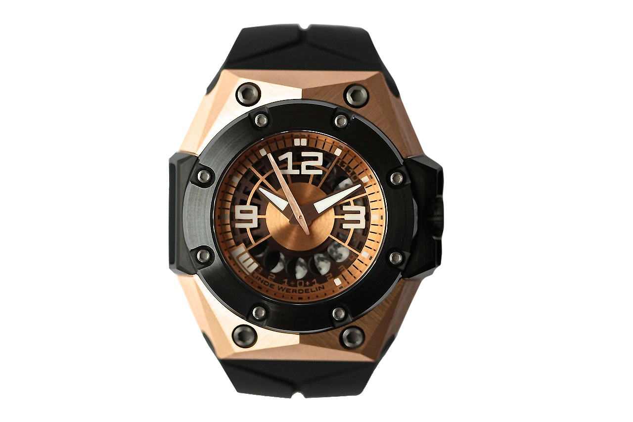 Linde Werdelin Oktopus II Moon Rose Gold