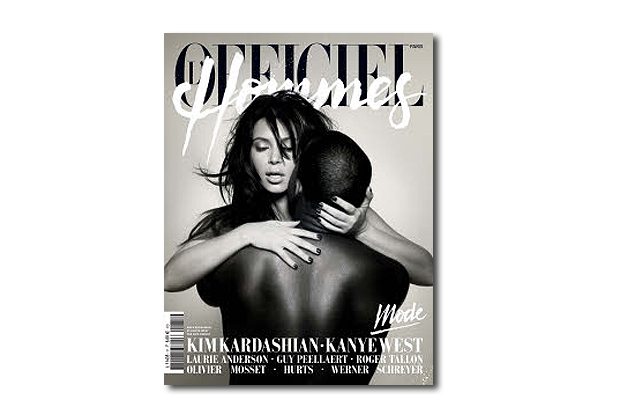 L'Officiel Hommes Paris 2013 Spring/Summer Cover Preview