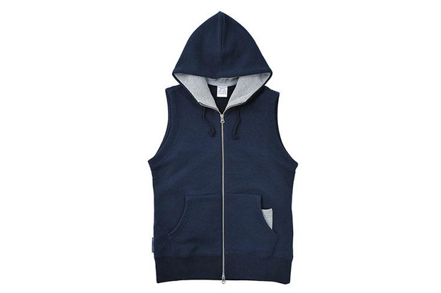 loopwheeler 2013 spring light hood vest