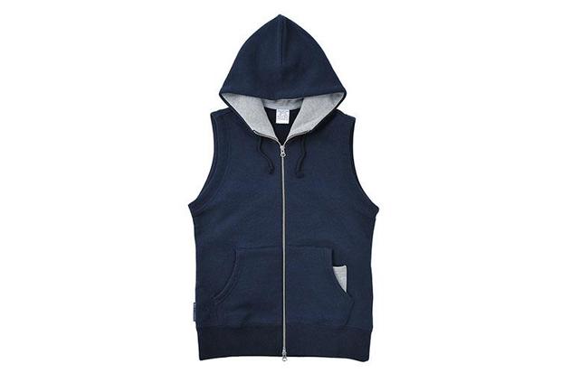Loopwheeler 2013 Spring Light Hood Vest