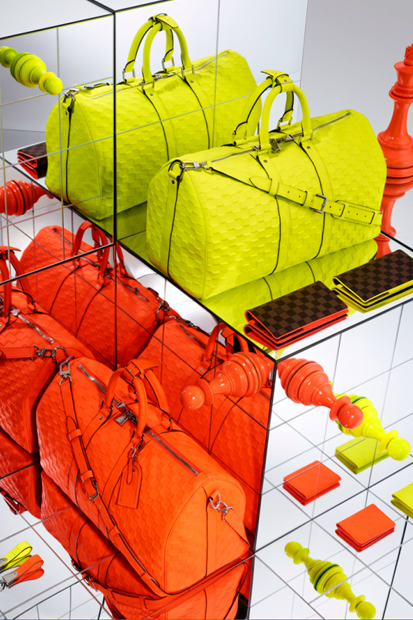 Louis Vuitton 2013 Spring Damier Signature Collection