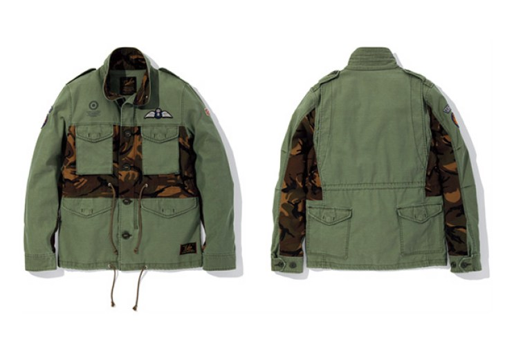 LUKER by NEIGHBORHOOD BUSH M-65 . DPM / C-JKT