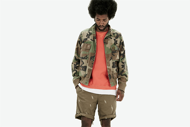 "maharishi 2013 Spring/Summer ""Memento Mori"" Lookbook"