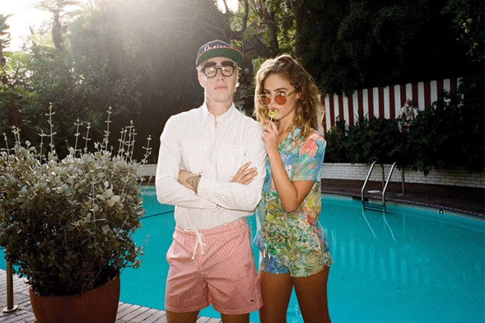 Maison Kitsune 2013 Spring/Summer Lookbook