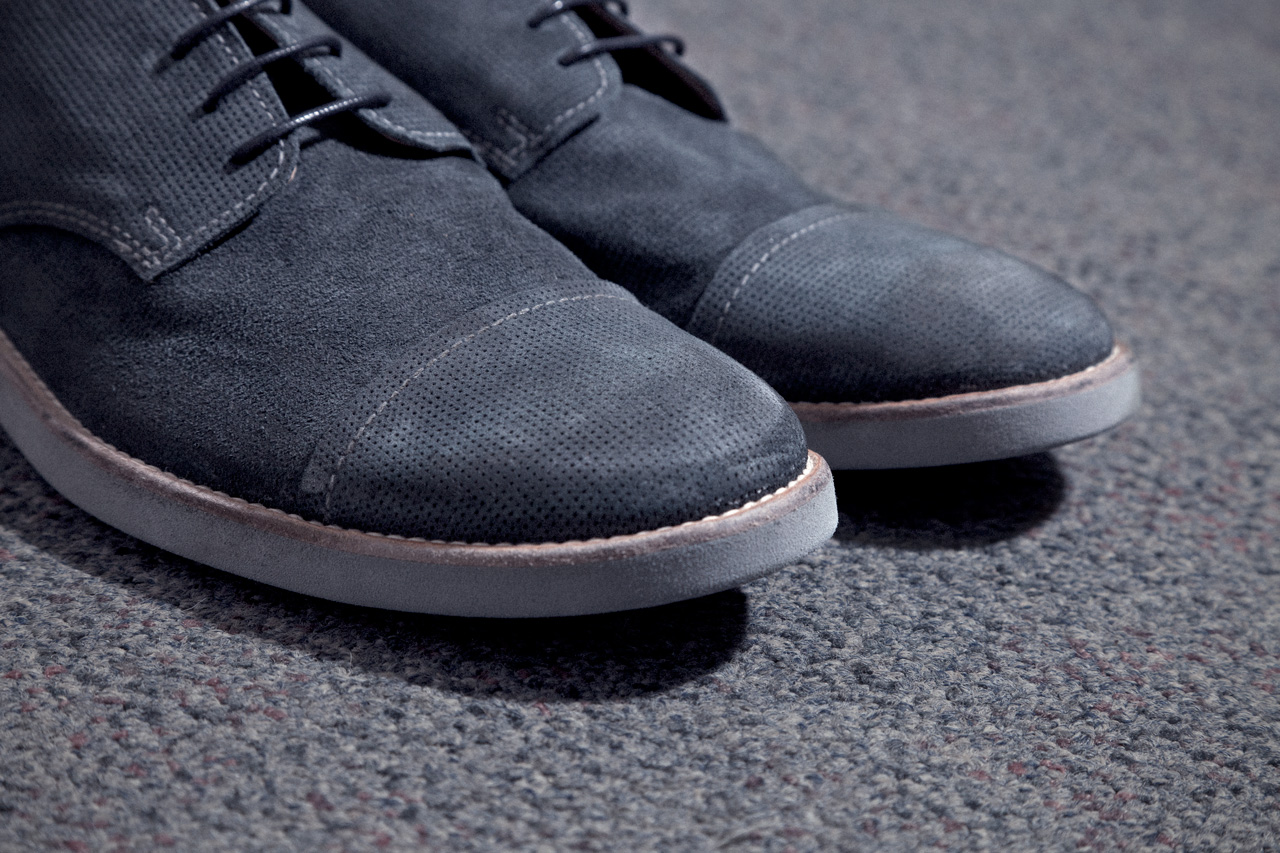 maison martin margiela 2013 spring summer mould treated crust leather oxford