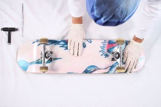 Marc Jacobs Road Rash Skate Deck