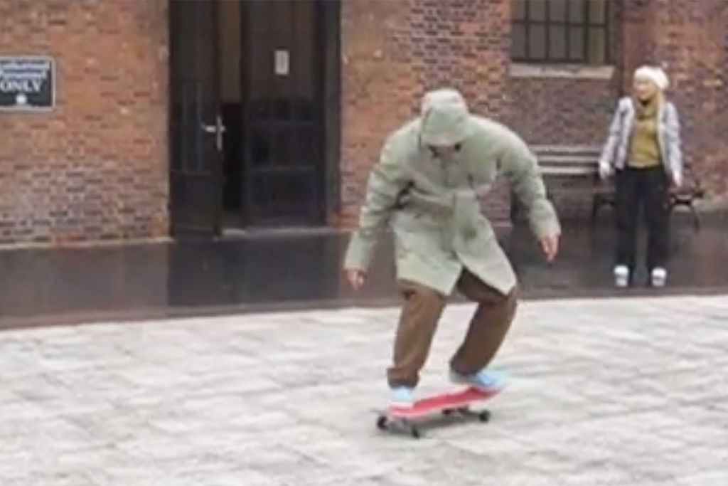 Mark Gonzales Has Some Fun in NYC