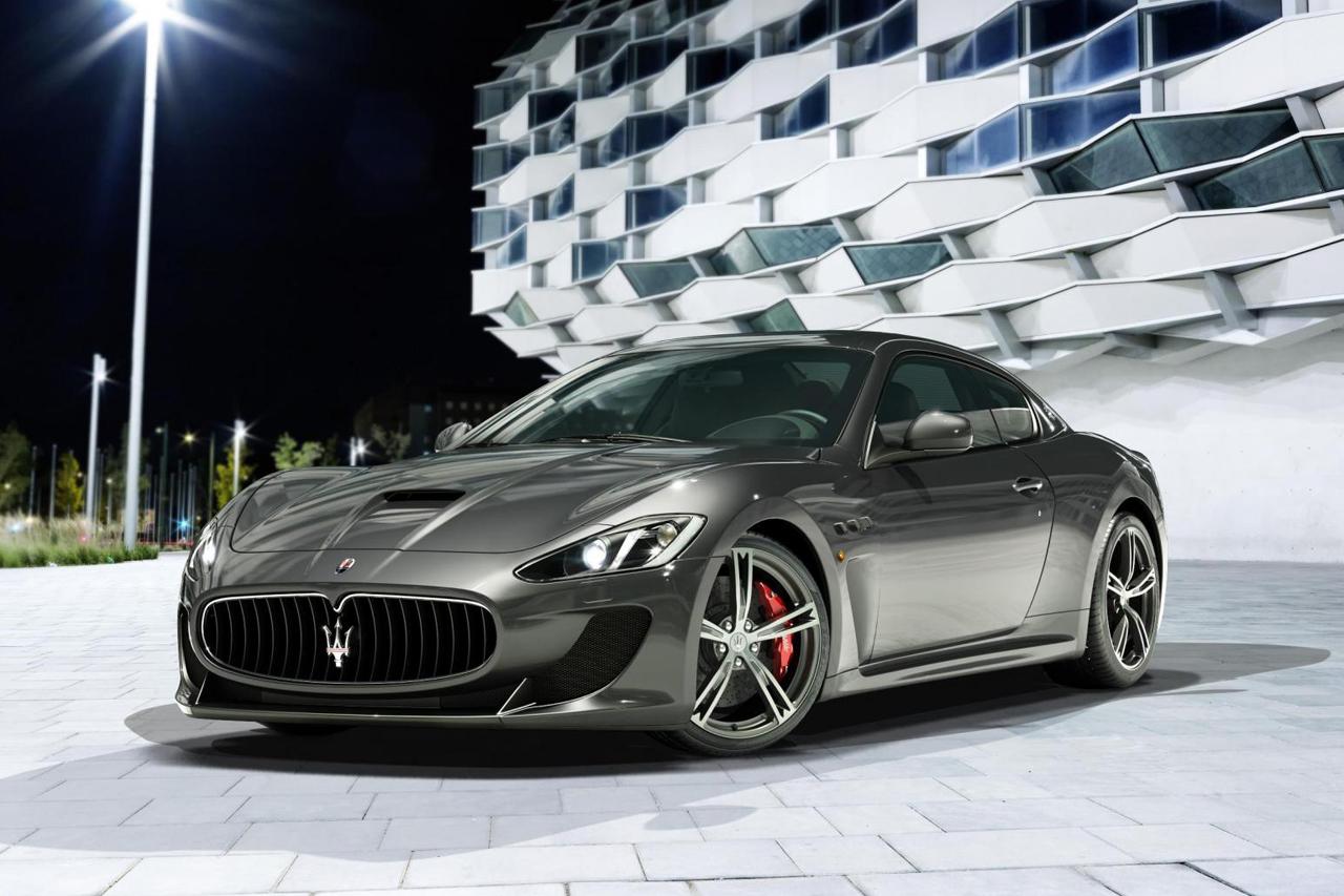 Maserati Unveils the 2013 GranTurismo MC Stradale