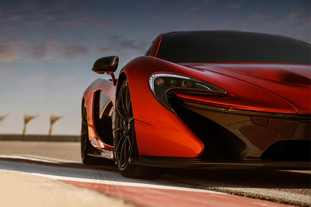 McLaren P1 Super Sports Car Captured by George Williams