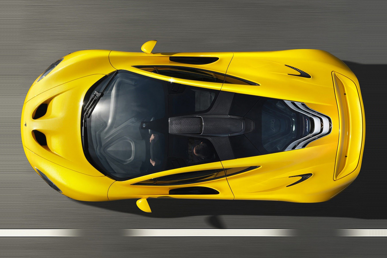 McLaren Unveils Official Photos of the P1