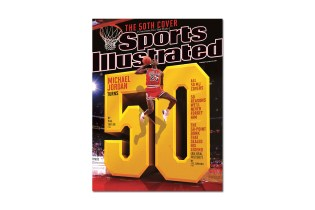 Michael Jordan Covers Sports Illustrated for the 50th Time